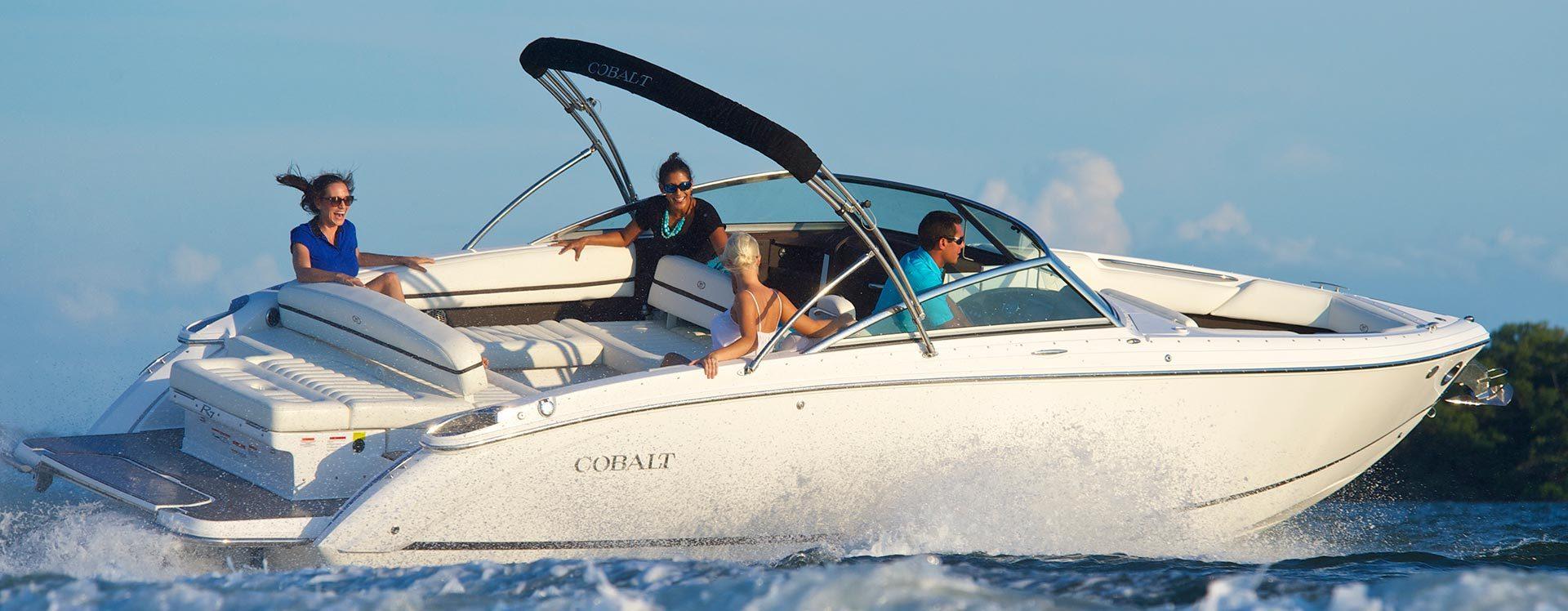 CObalt new boat models